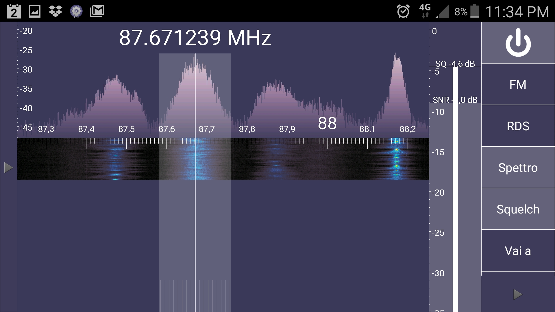 sdr smartphone screen shoot