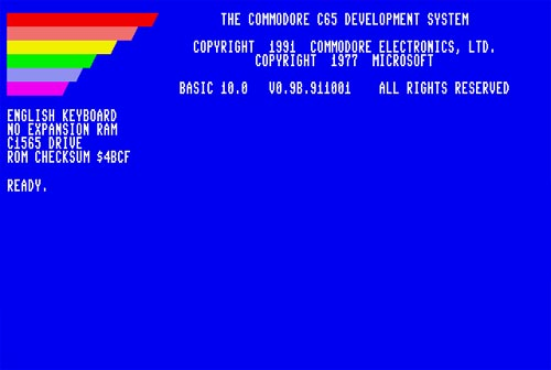 Commodore65Boot